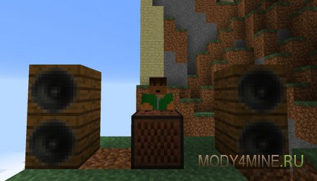 mp3Jukebox - мод на музыку в Minecraft 1.7.10/1.8
