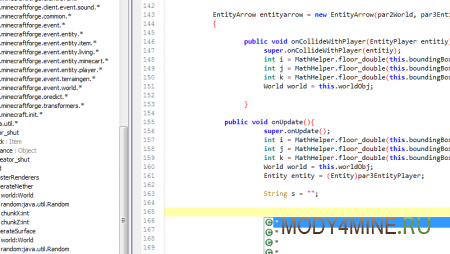 Создание модов в Майнкрафт - MCreator 1.7.10/1.7.2