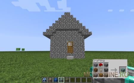 Insta House - мод на постройку дома в один клик!