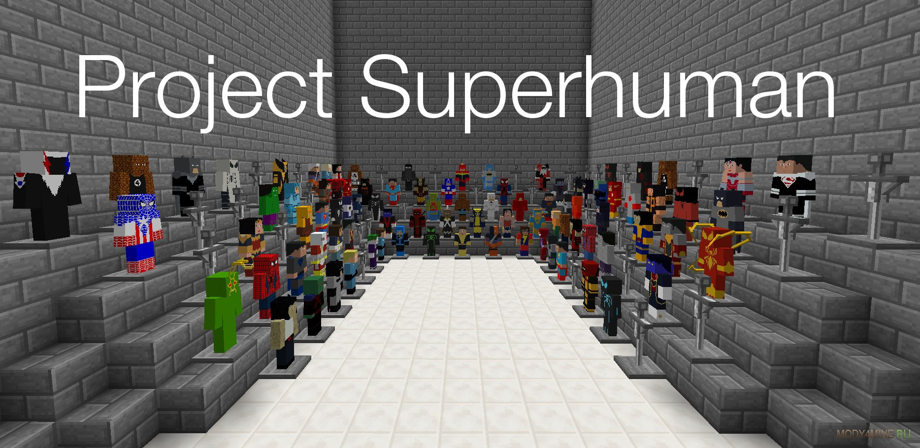 Superheroes unlimited mod download & review | minecraft 1. 7. 10.