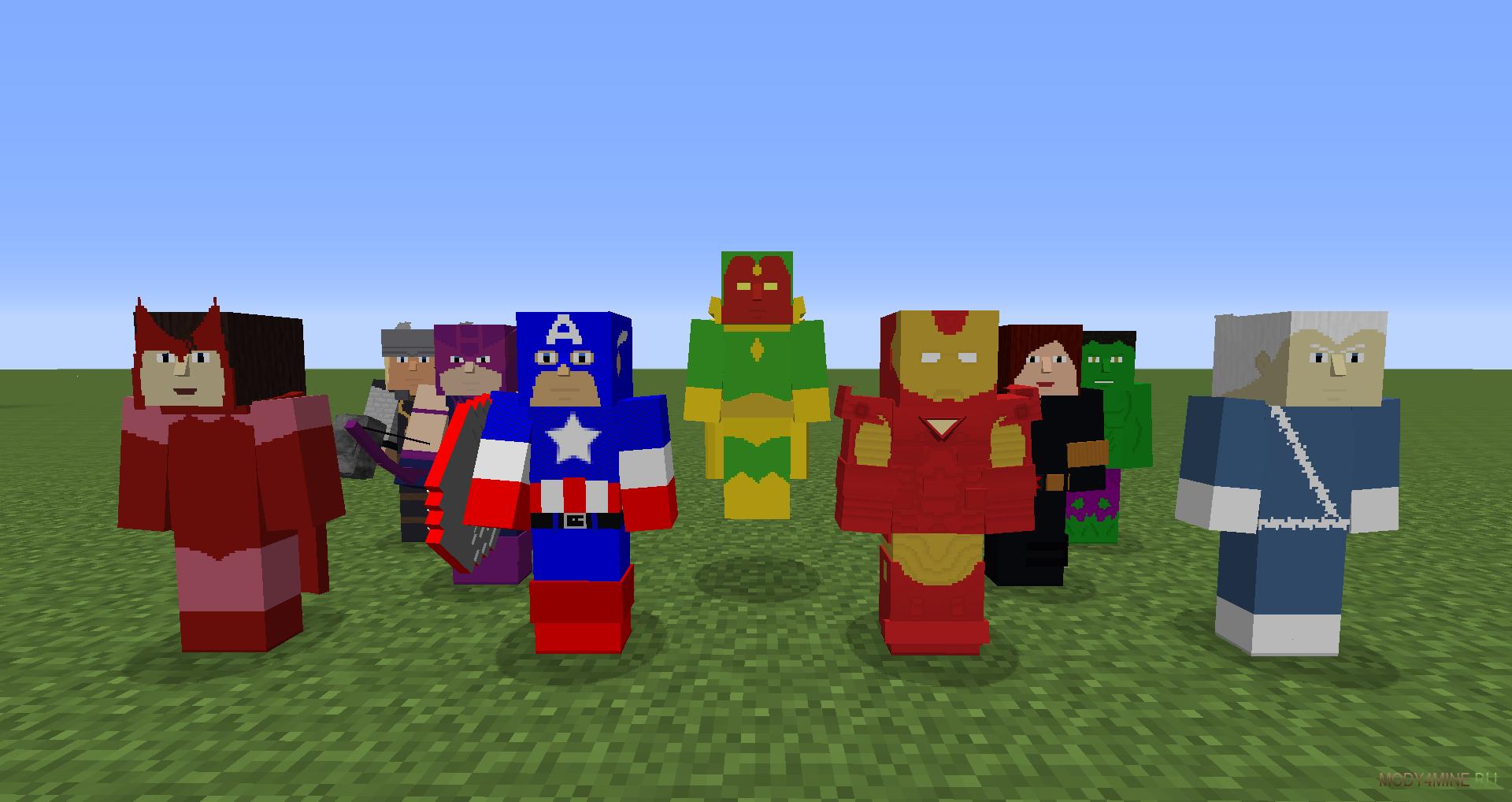 Fisk's superheroes – скачать мод на майнкрафт 1. 7. 10.