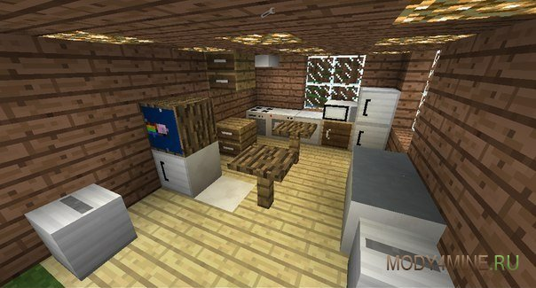 MrCrayfish s Furniture Mod - мебель в Minecraft PE 13 и