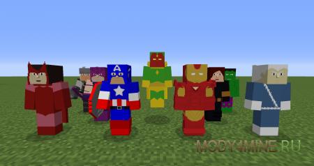 Project Superhuman - мод на супергероев для Minecraft 1.7.10