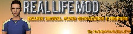 Мод на реальную жизнь - Real Life Mod 1.7.10