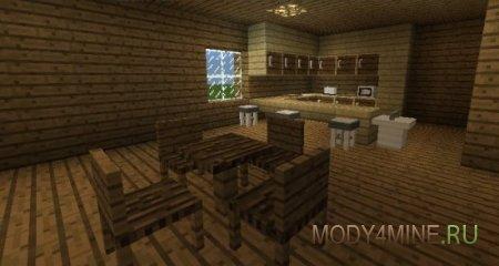 Furniture mod - мод на мебель для Minecraft PE 0.11.1/0.11.0/0.10.5
