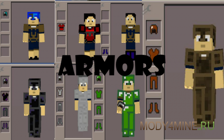 Special Armor — мод на броню для Minecraft PE 0.11.1/0.11.0