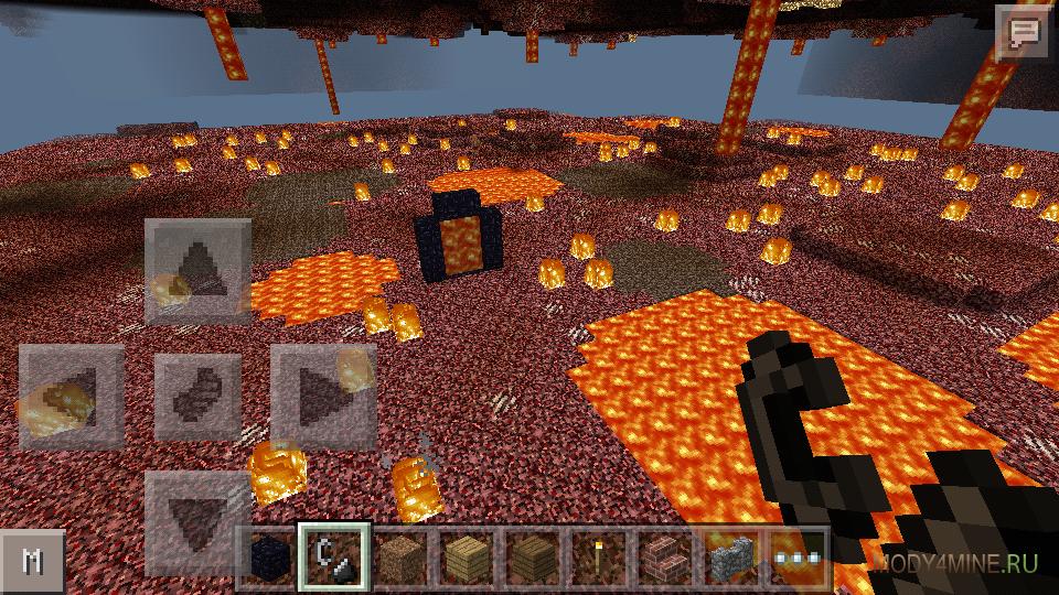 Как сделать портал в ад в версии 0105