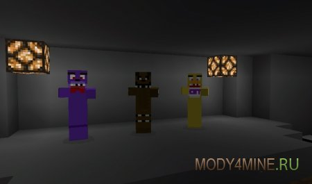 Five Nights At Freddy's для Майнкрафт ПЕ 0.10.5