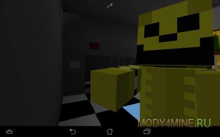 Five Nights At Freddy's для Майнкрафт ПЕ 0.10.5