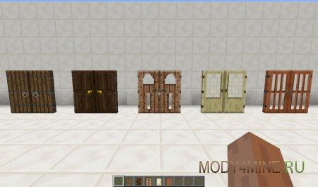 Malisis Doors - мод на двери для Minecraft 1.6.4/1.7.2/1.7.10