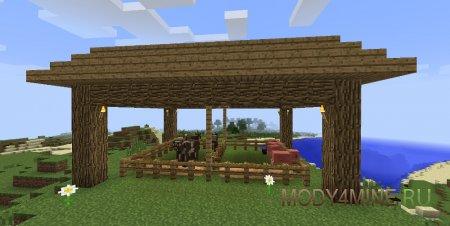 Hungry Animals — реалистичные животные в Minecraft 1.12.2-1.7.10