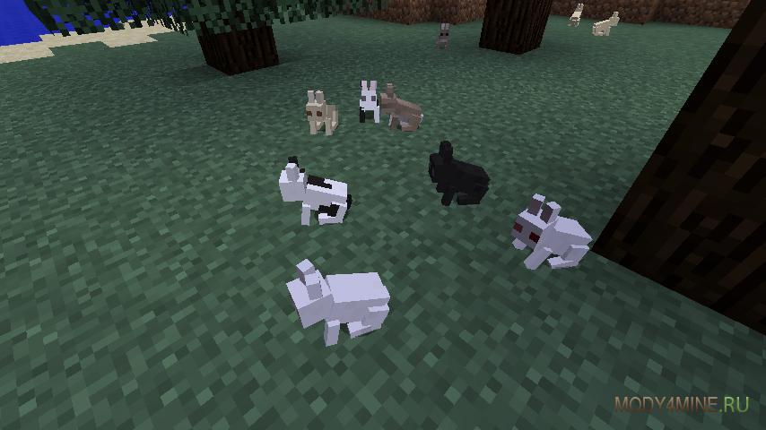 Майнкрафт с модом на животных скачать
