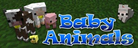 Baby Animals - мод на новые модельки детей животных