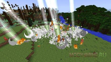 Too Much TNT - мод на динамит в Minecraft 1.8