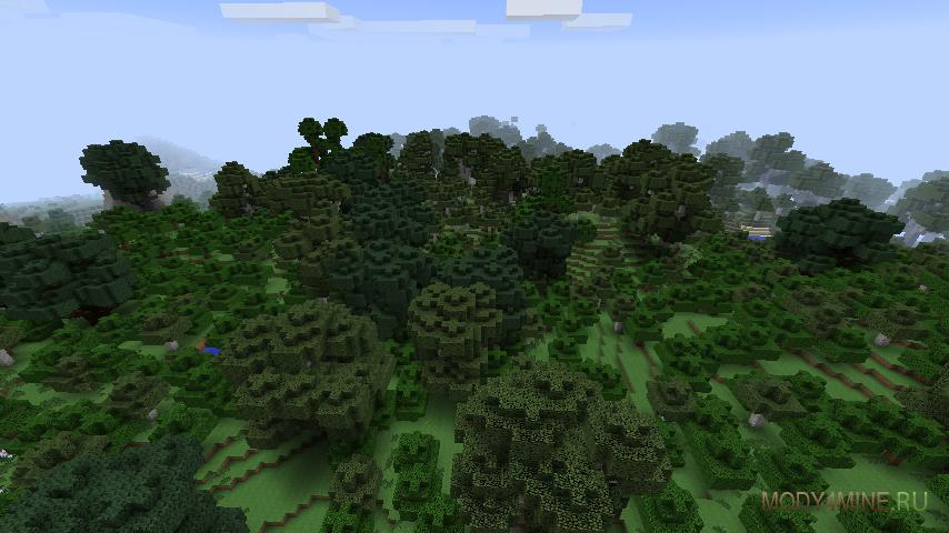 скачать мод на высокие деревья - фото 5