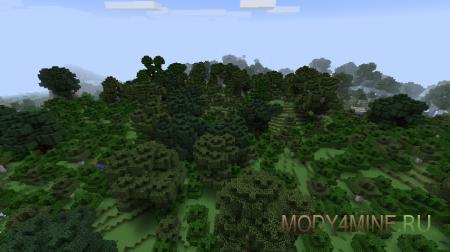 Big Trees — мод на большие деревья для Minecraft 1.6.4/1.7.2/1.7.10/1.8
