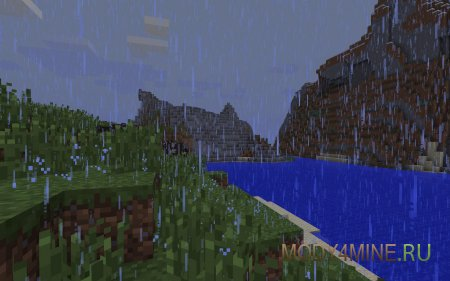 Better Rain - мод на дождь для Майнкрафт 1.7.10/1.7.2