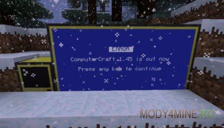 ComputerCraft - Мод на компьютер для Майнкрафт 1.8.9/1.8/1.7.10
