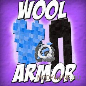 Wool Armor — мод на броню для Майнкрафт 0.14.0