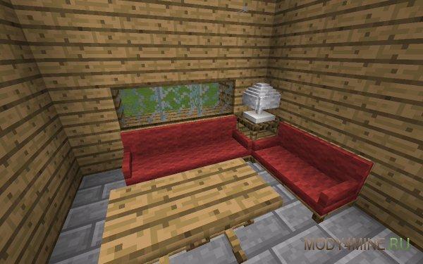 Furniture mod en mcpe!! Pocket decorations mod | minecraft pe.