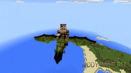 Wyverns — мод на драконов для Minecraft 0.14.0/0.14.1