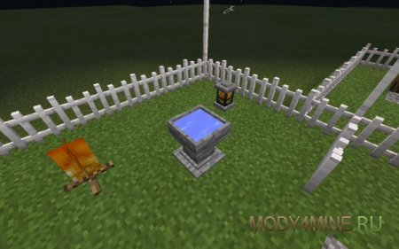 Dan's Furniture — мод на мебель для Minecraft 0.14.0
