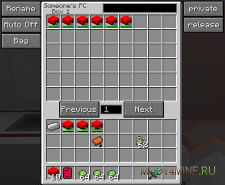 Pokecube — мод на покемонов для Minecraft 1.8.9/1.9/1.9.4/1.10.2