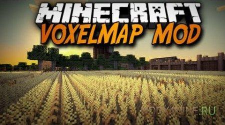 Мод на мини карту VoxelMap для Minecraft 1.7.10/1.8.*/1.9.*