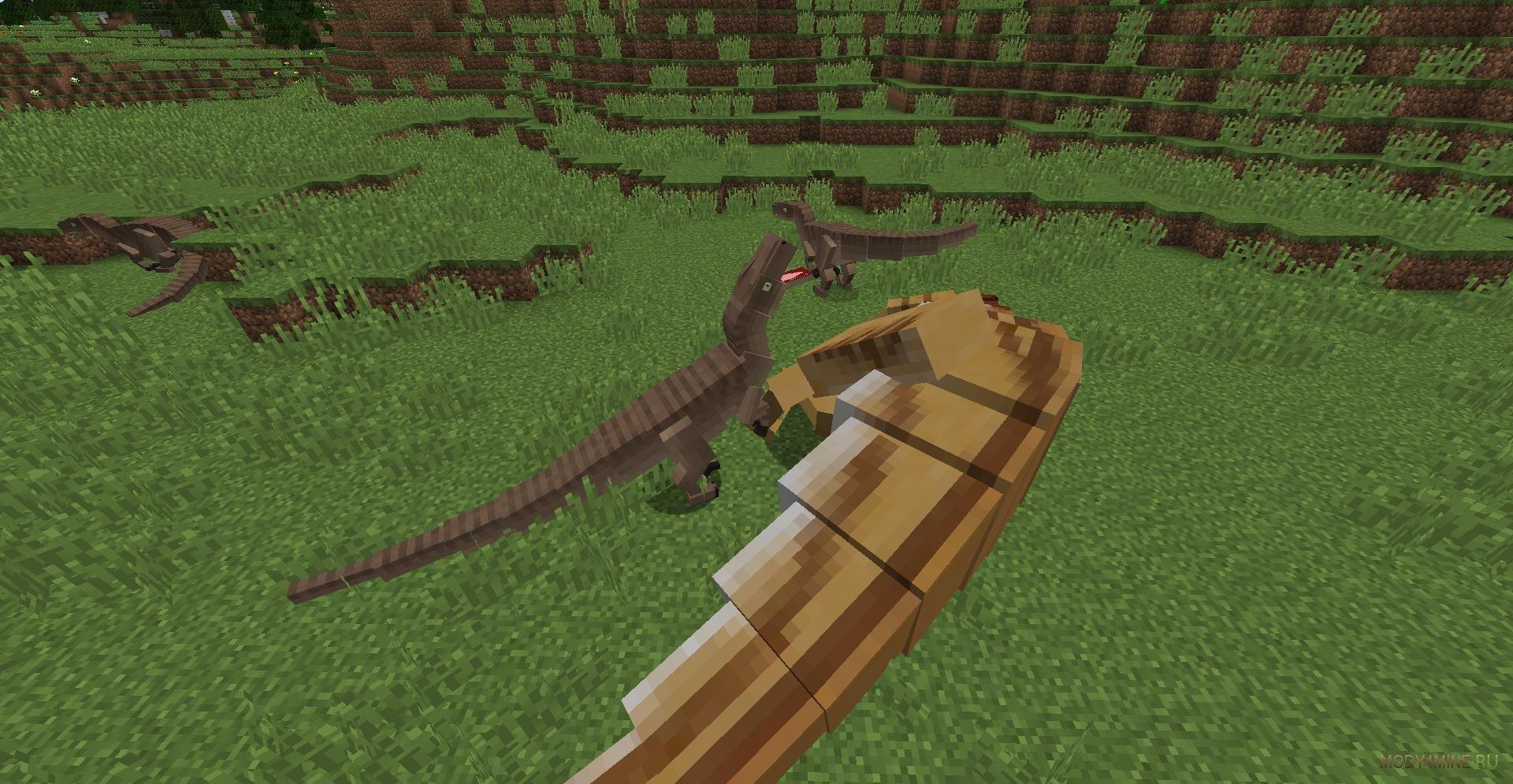 Скачать мод на minecraft 1. 7. 10 на динозавров.