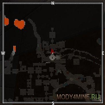 Карта подземелья