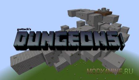 Dungeons — мод на данжи для Minecraft 1.8.*/1.9.*/1.10.*