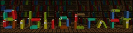 BiblioCraft — мод на мебель для Minecraft 1.8.9