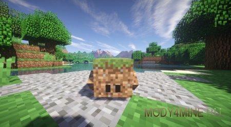 Мод на приручение блоков — Blocklings для Minecraft