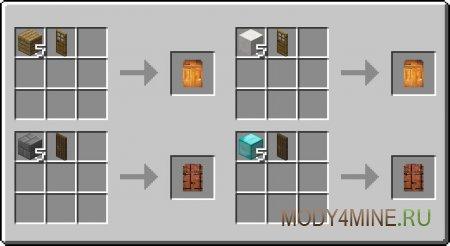 Рецепт крафта больших дверей