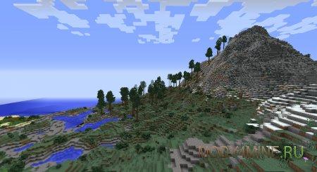Realistic Terrain Generation 1.7.10/1.8.9/1.9.4/1.10.2