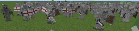 Overlord — мод на армию скелетов в Minecraft 1.9.4-1.12.2