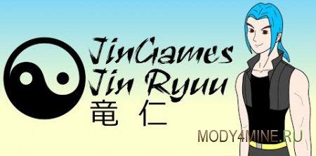 JinRyuu's Hair C — мод на прически в Майнкрафт 1.8.*/1.9.*/1.10.*