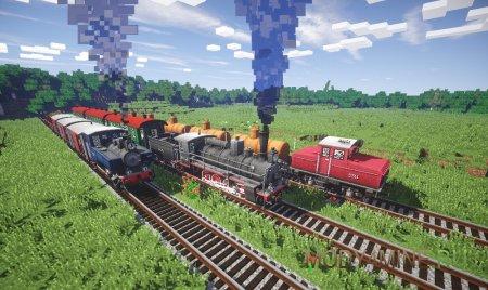 Поезда в пути
