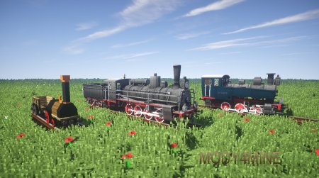 Поезда в траве