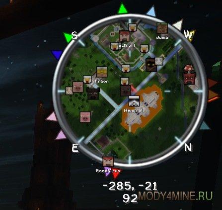VoxelMap — мод на мини-карту в Minecraft 1.10.2/1.11.2/1.12