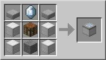 Рецепт крафта блока для создания костюмов