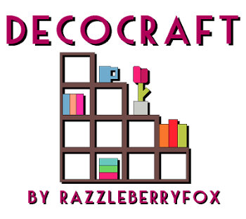 Декоративный мод DecoCraft 2 1.12.2/1.11.2/1.10.2/1.9.4/1.8.9/1.7.10