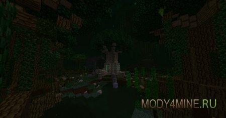 Мод Betweenlands — новое измерение в Minecraft 1.7.10/1.12.2