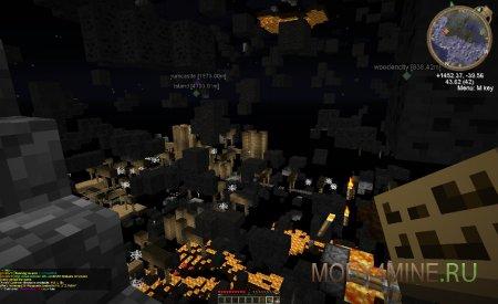 Мод X-Ray — читы для Minecraft 1.11/1.10.2/1.9.4/1.9/1.8.9