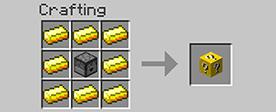 Рецепт крафта лаки блока