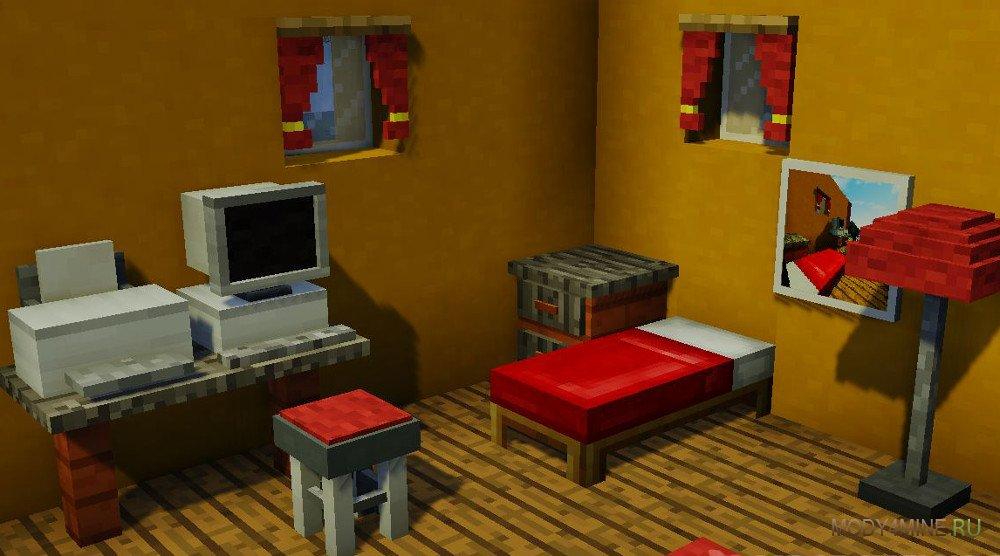 Mrcrayfish 39 s furniture for Furniture mod 1 10 2