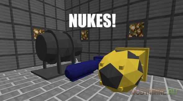 Взрыв Ядерного реактора в minecraft |мод Industrial Craft ...
