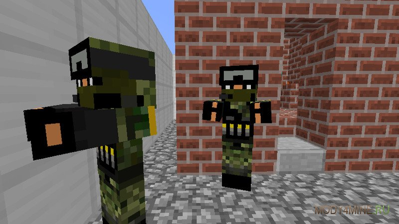 Майнкрафт Зомби Апокалипсис с Оружием скачать