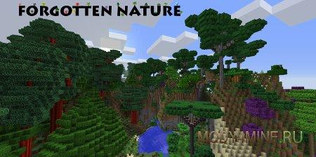 Forgotten Nature — новые биомы и деревья в Minecraft 1.7.10