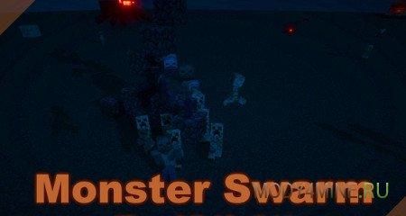 Мод Monster Swarm — умные монстры в Minecraft 1.12.2/1.8.9/1.7.10